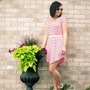 Dresses & Skirts - Striped shirt dress
